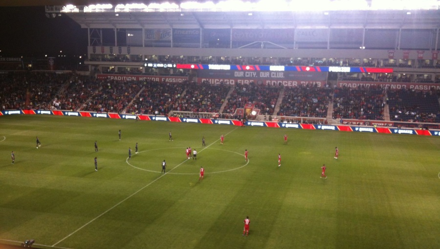 There's not much that compares to watching the men in red at Toyota Park again.