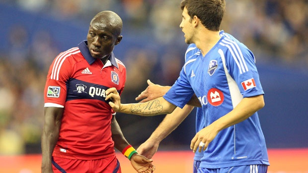 Dominic Oduro in action against Montreal last weekend. Will be play the biggest role this season? | Image source: mlssocer.com