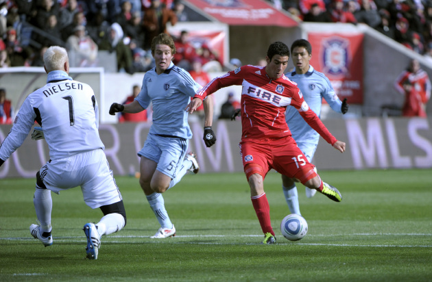 "Chicago welcomes its ""rivals"" to Toyota Park on Saturday. 